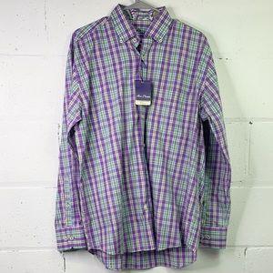 Alan Flusser button down shirt